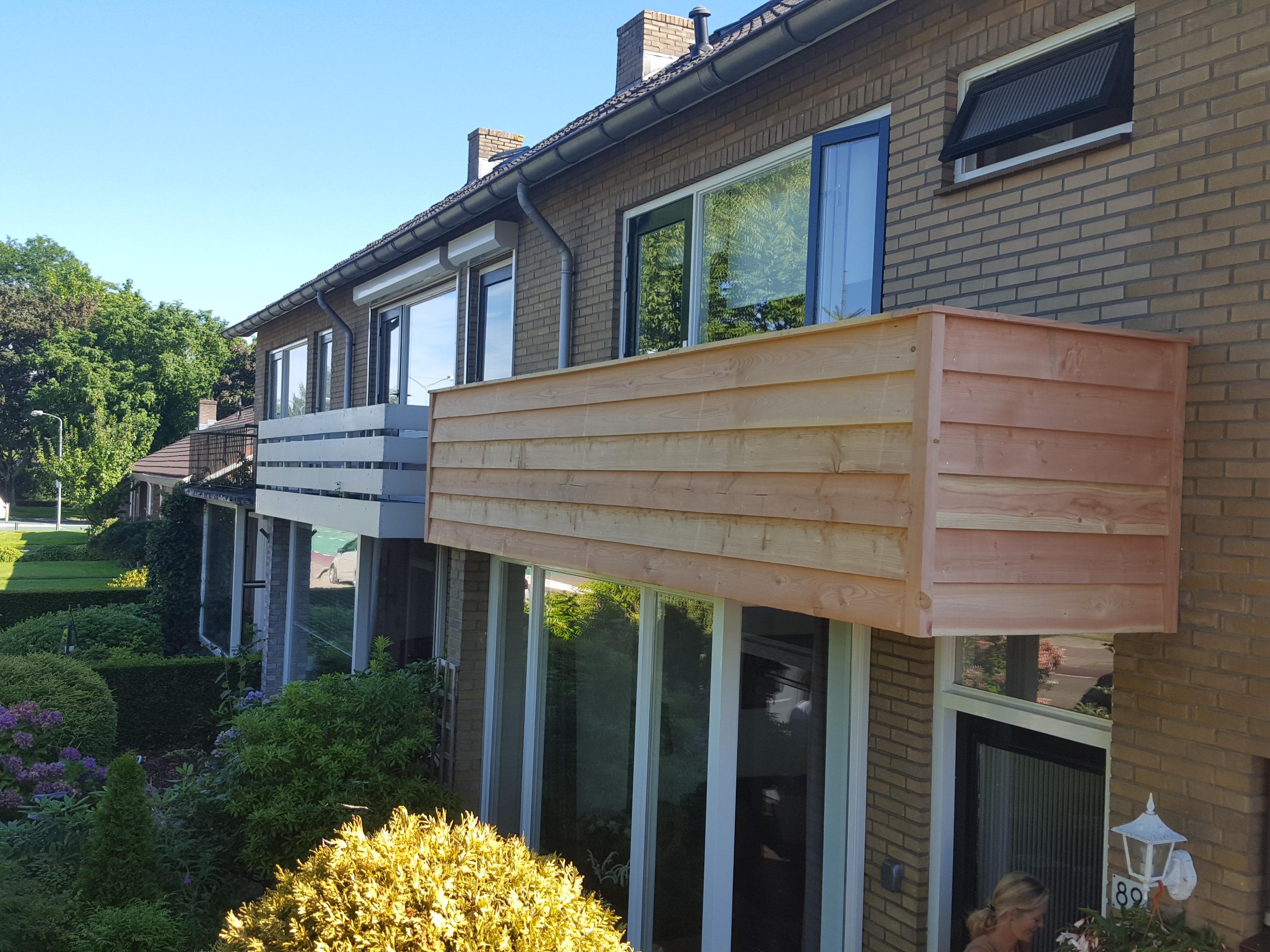 Ernsten Timmerwerk | Balkon