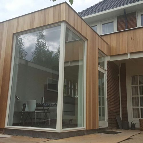 Ernsten Timmerwerk | Project moderne aanbouw